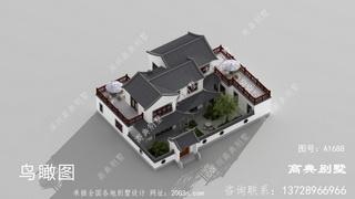 造价经济的新中式院子别墅