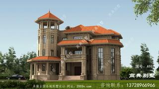 别墅这样建在村里绝对最奢华大气的